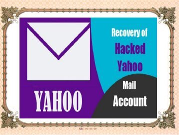 What are the steps to recover a Hacked Yahoo Account?