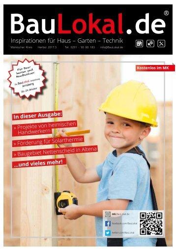 BauLokal.de Magazin 3/2017 Märkischer Kreis