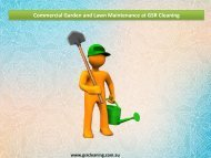 Commercial Garden and Lawn Maintenance at GSR Cleaning