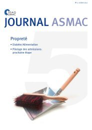 JOURNAL ASMAC - No 5 - octobre 2017