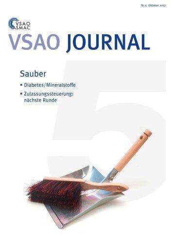 VSAO JOURNAL Nr. 5 - Oktober 2017