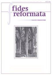 Fides 15 N2 - Revista do Centro Presbiteriano Andrew Jumper