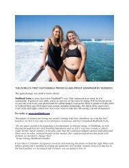 Sustainable Swimwear, Modibodi's Leak-proof Cosi is here!