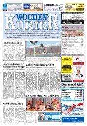 Wochen-Kurier 41/2017 - Lokalzeitung für Weiterstadt und Büttelborn