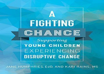 A-Fighting-Chance-Supporting-Young-Children-Experiencing-Disruptive-Change