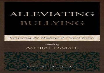 Alleviating-Bullying-Conquering-the-Challenge-of-Violent-Crimes-Issues-in-Black-Education