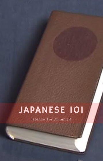 Japanese 101