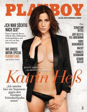 Leseprobe Playboy 11/2017