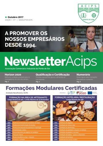 ACIPS NEWSLETTER // Outubro 2017 - Edição 1 - Nº 1