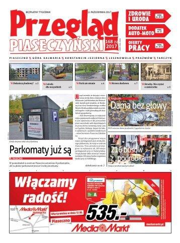 Przegląd Piaseczyński, wydanie 168