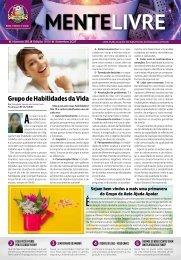 Jornal Mente Livre edição de outubro 2017