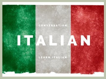 eBook Italian Conversation Free To Download