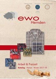 ewo Hemden Katalog Herbst / Winter 2017 / 2018