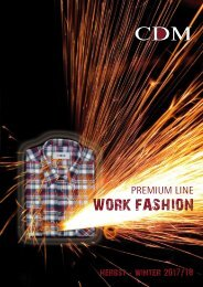 CDM - Premium Line Work Fashion Katalog Herbst / Winter 2017 / 2018