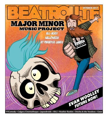 BeatRoute Magazine [AB] print e-edition - [October 2017]