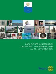 Kunstauktion 2017 RC Hamburg-Elbe