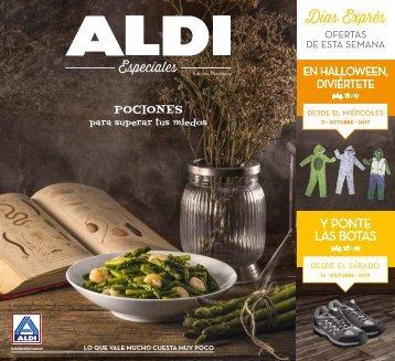 Revista Ofertas ALDI hasta 14 de Octubre 2017