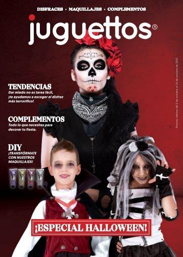 CATÁLOGO juguettos HALLOWEEN 2017 hasta 30 de Octubre