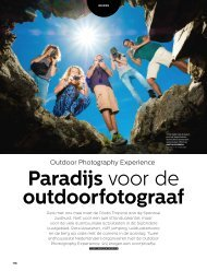 Article in the Dutch Photography Magazine about Outdoor Photoghraphy Experience