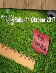 e-Kliping Rabu, 11 Oktober 2017