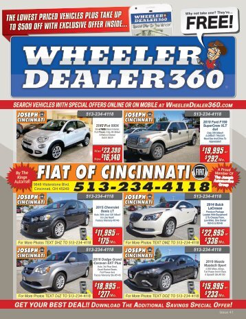 Wheeler Dealer 360 Issue 41, 2017