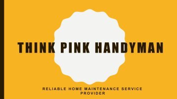 Professional Picture Hanging Services in Melbourne - Think Pink Handyman