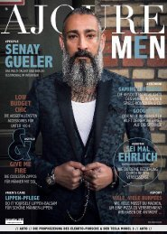 AJOURE´ Men Magazin September 2017