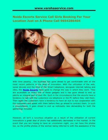 Noida Escorts Call Girls Service Phone 9654286404