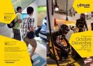 Programme de L'Atelier Renault - Octobre à Décembre 2017