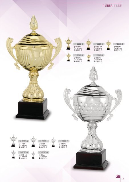 Catálogo de trofeos