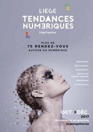Liège Tendances numériques - programme 2017