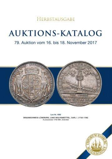 Auktionskatalog AK79 - Emporium Hamburg