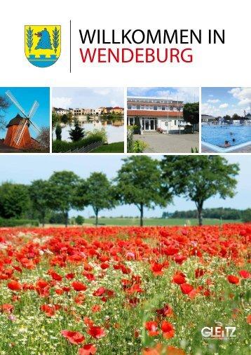 Wendeburg Bürgerinformationsbroschüre 2017