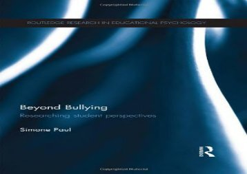 Beyond-Bullying-Researching-student-perspectives-Routledge-Research-in-Educational-Psychology