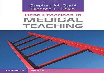 Best-Practices-in-Medical-Teaching-Cambridge-Medicine-Paperback