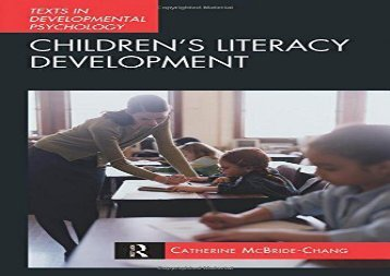 Children-s-Literacy-Development-International-Texts-in-Developmental-Psychology