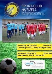 SPORT-CLUB AKTUELL - SAISON 17/18 - AUSGABE 6