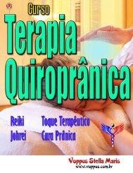 Terapias Quiroprânicas Lição 1
