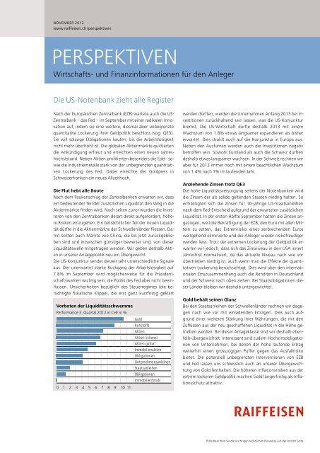Anlagefonds - Raiffeisen