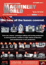 Manufacturing Machinery World October 2017