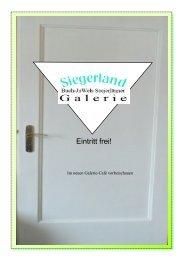 Galerie Siegerland: Jetzt 32 Seiten online