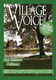 Village Voice Oct / Nov 2017 Issue 182