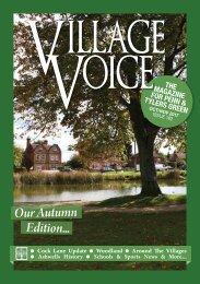 Village Voice Oct / Nov 2017 Issue 182