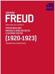 FREUD, Sigmund - Obras Completas Cia. Letras) - Vol. 15 (1920-1923) [POR]