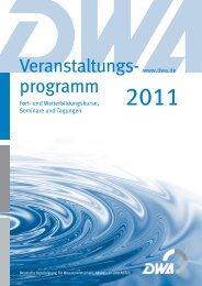 Entwässerungssysteme - European Water Association