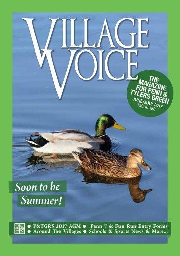 Village Voice June / July 2017 Issue 180