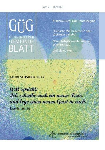 GUEG Jahrbuch 2017