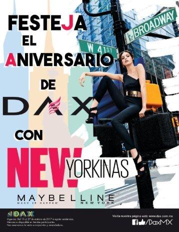 Festeja el aniversario de Dax con new yorkinas