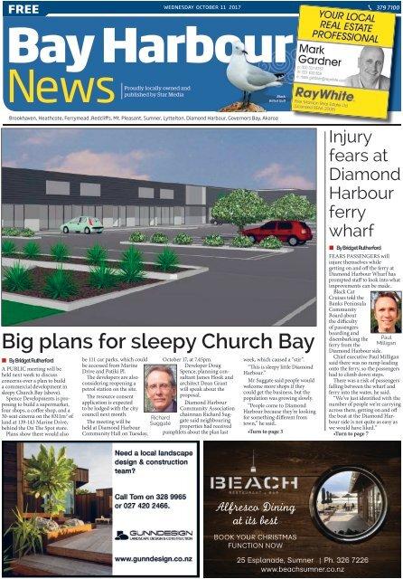 Bay Harbour: October 11, 2017