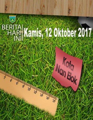 e-Kliping Kamis, 12 Oktober 2017